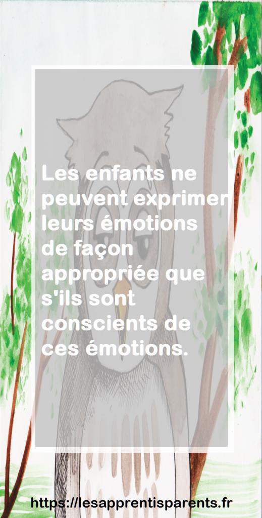 parler aux enfants des émotions