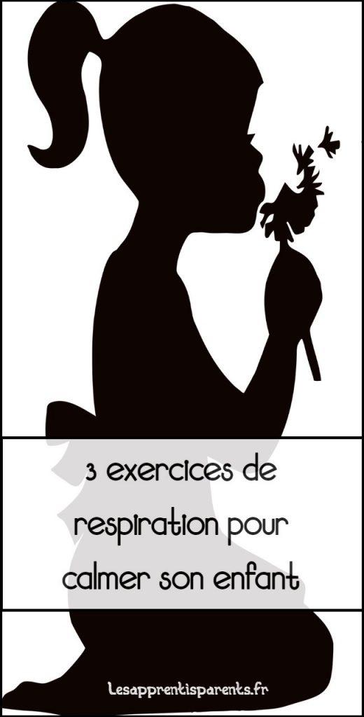 3 exercices de respiration pour calmer son enfant