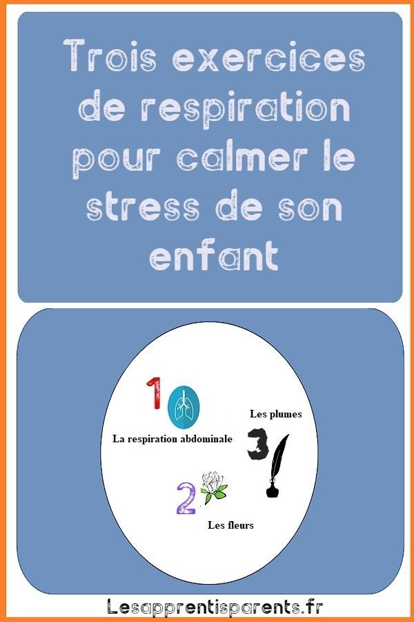 Trois exercices de respiration pour calmer le stress de son enfant