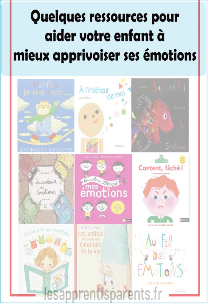 Quelques ressources pour aider votre enfant à mieux apprivoiser ses émotions
