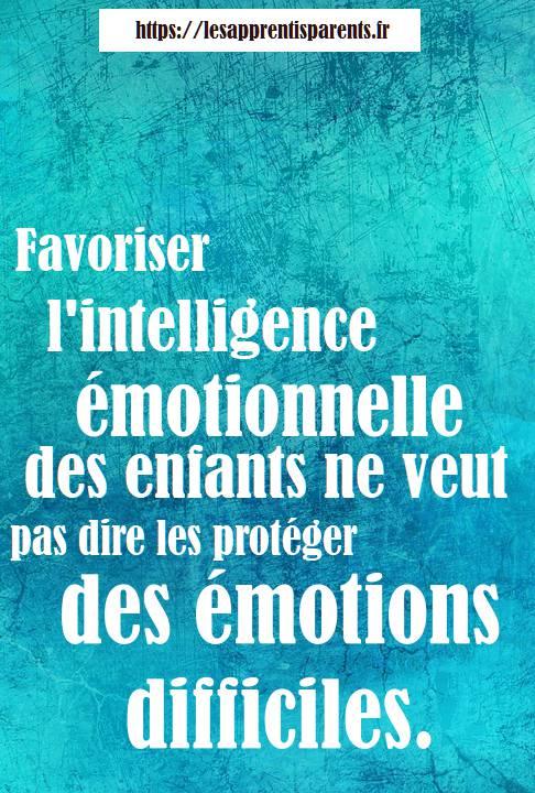 émotions des enfants, émotions difficiles
