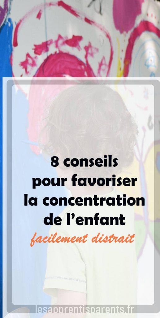 exercices de concentration pour enfants