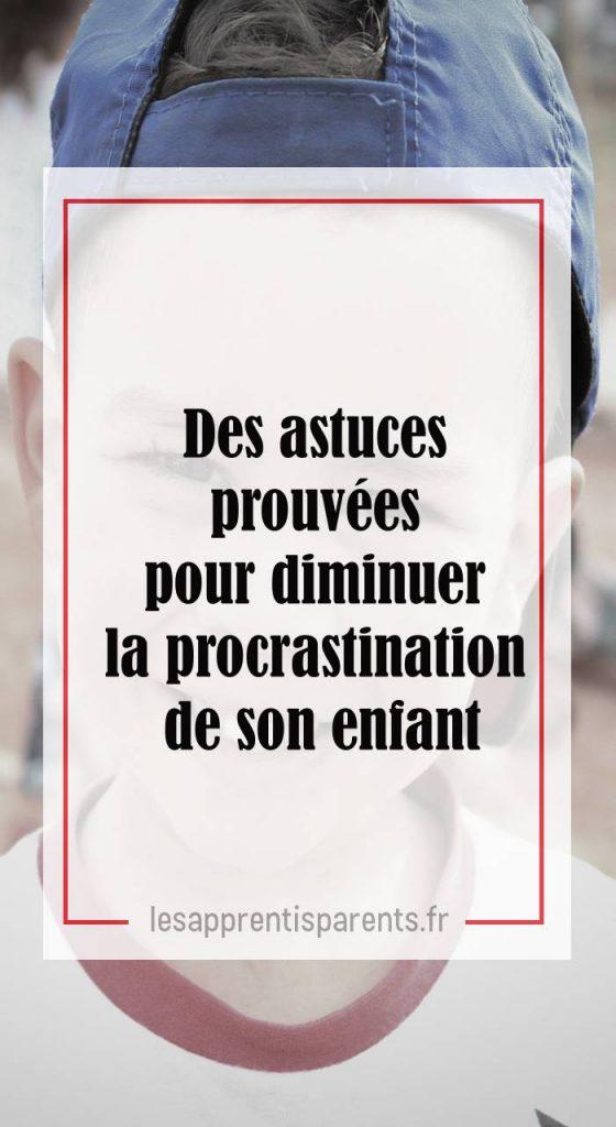 Procrastination enfant