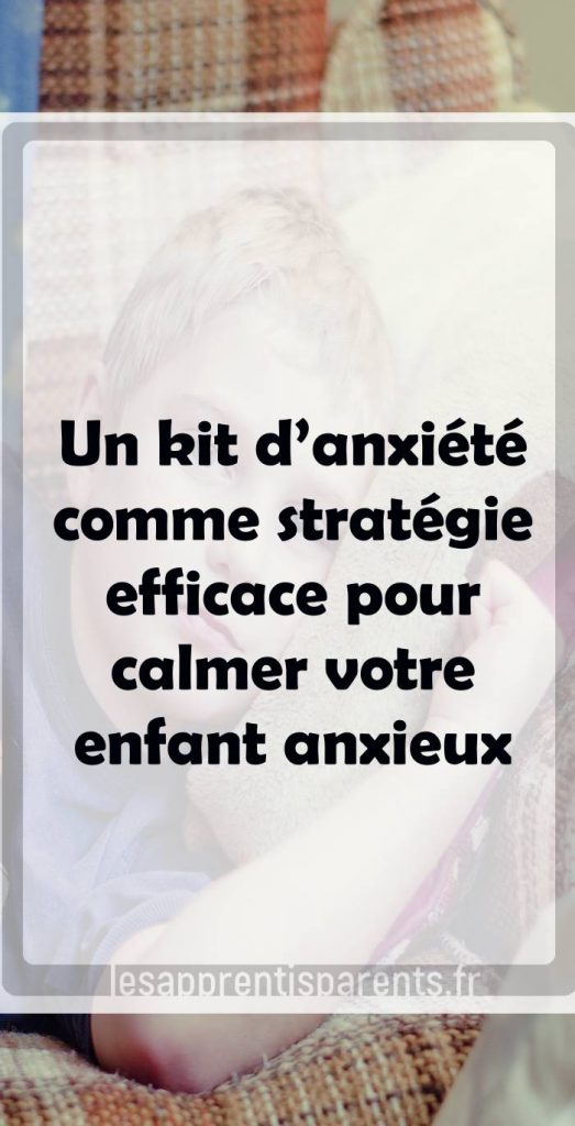 calmer anxiété enfant