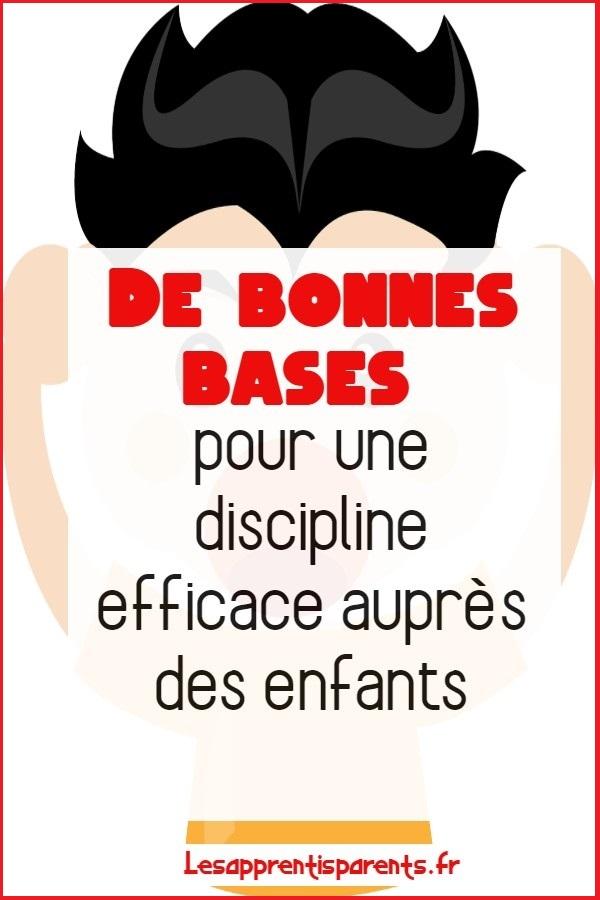 De bonnes bases pour une discipline efficace auprès des enfants