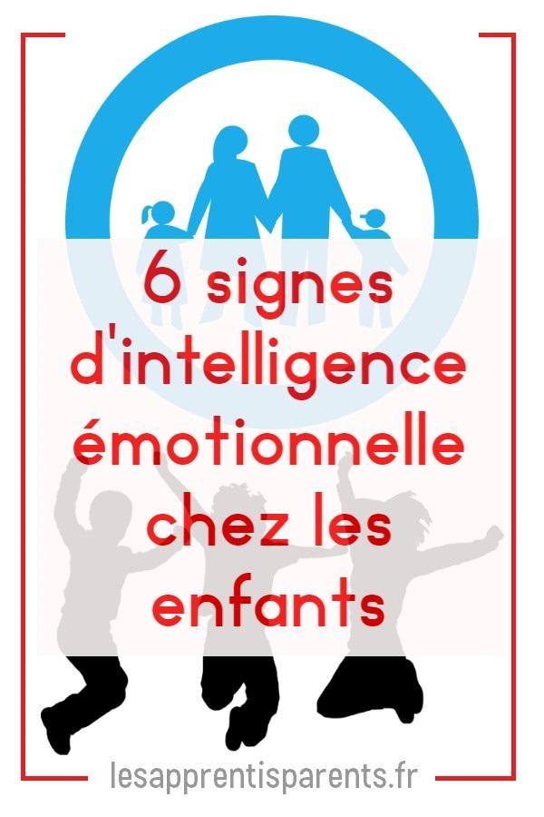 6 signes d'intelligence émotionnelle chez les enfants