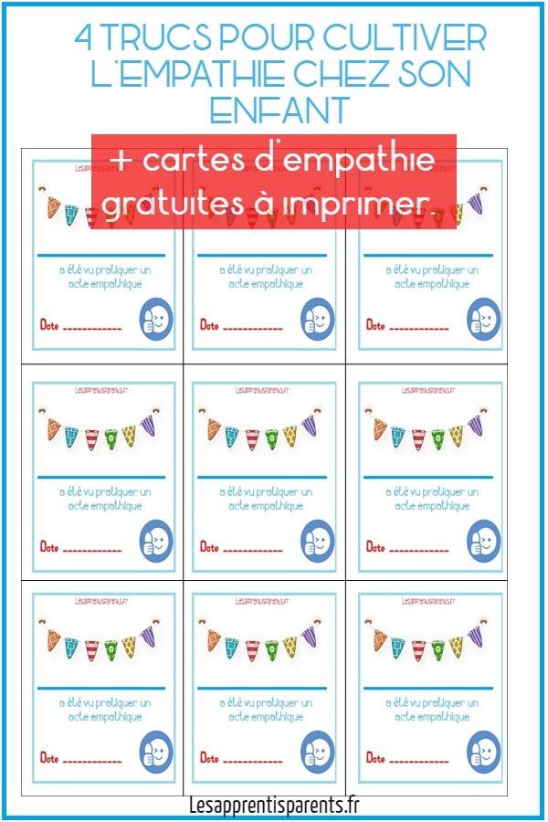 4 TRUCS POUR CULTIVER L'EMPATHIE CHEZ SON ENFANT