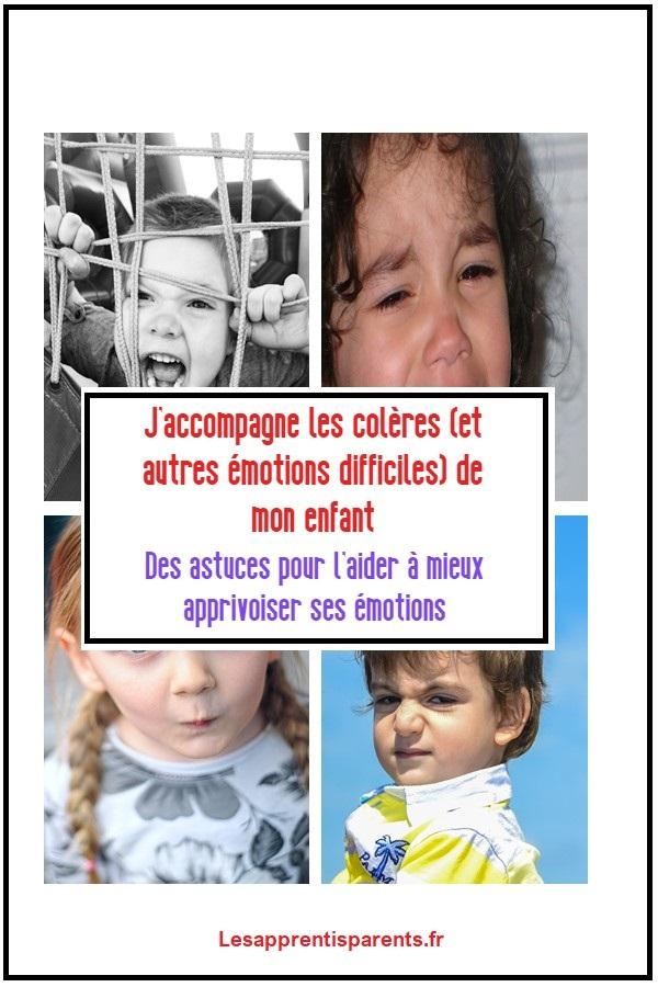 Aider votre enfant à faire face à ses émotions