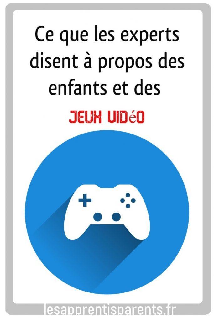Ce que les experts disent à propos des enfants et des jeux vidéo