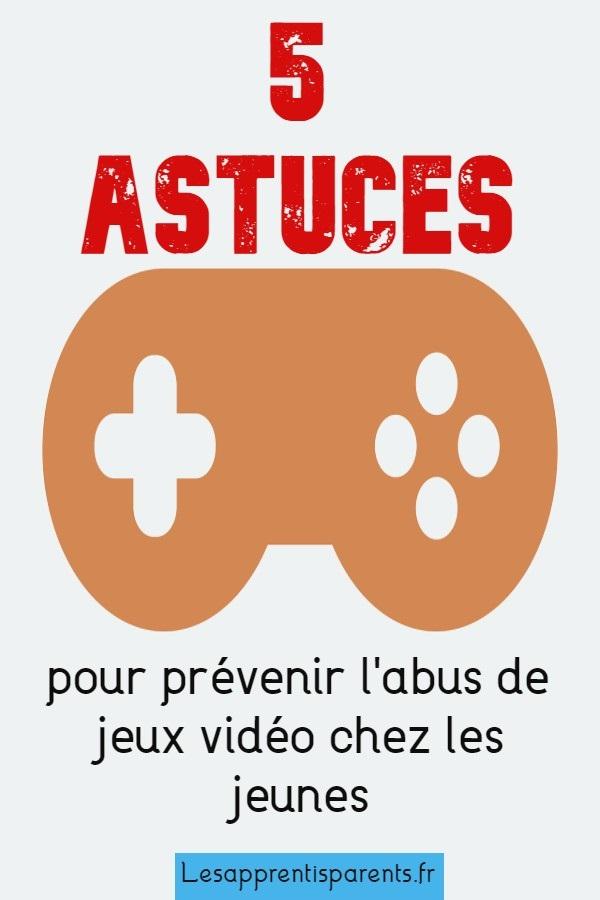 5 astuces pour prévenir l'abus de jeux vidéo chez les jeunes