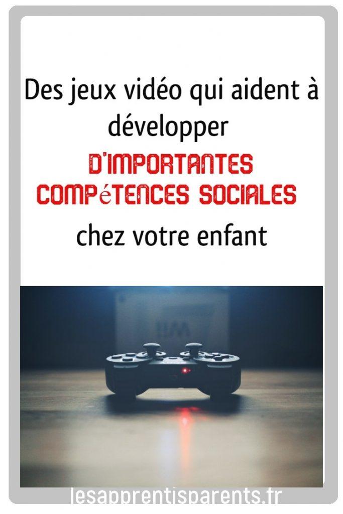 Des jeux vidéo qui aident à développer d'importantes compétences sociales chez votre enfant