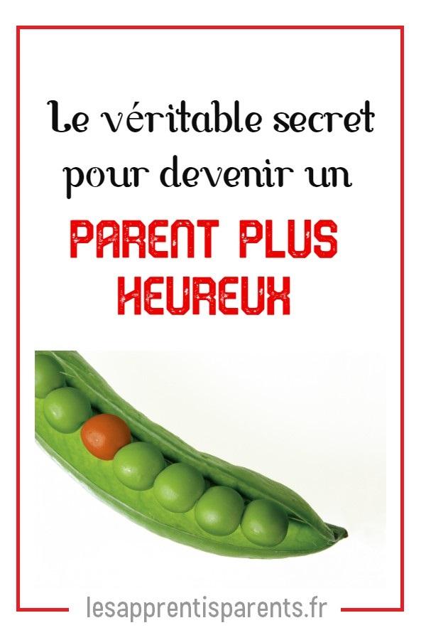 Le véritable secret pour devenir un parent plus heureux