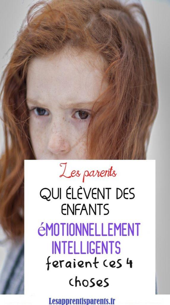 Apprendre la gestion des émotions à son enfant