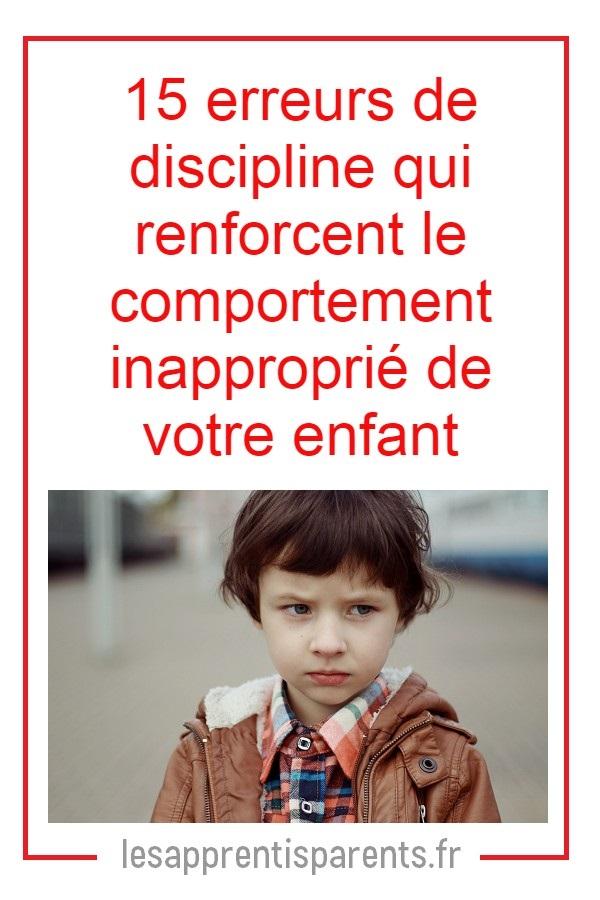 comment réagir au comportement de votre enfant
