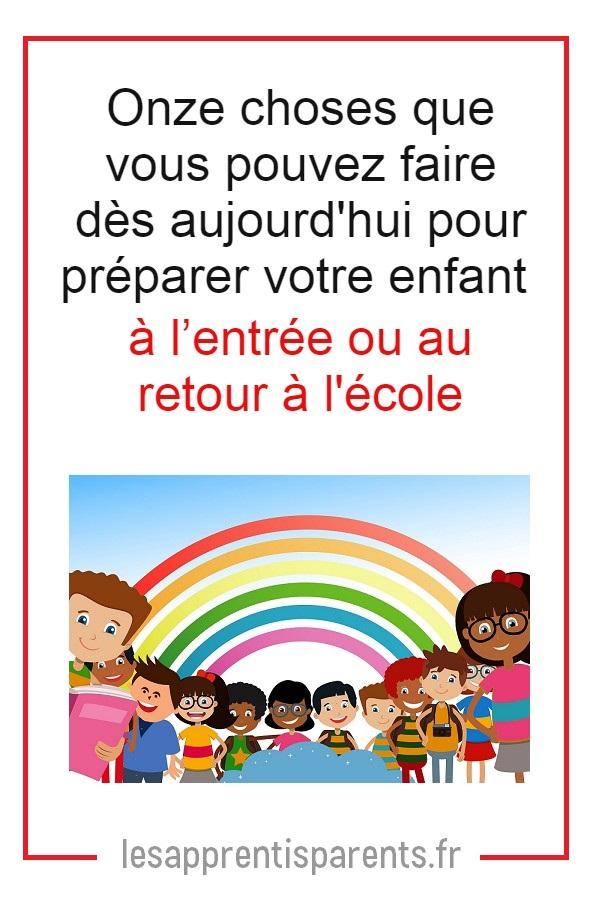 Aider votre enfant à préparer la rentrée scolaire