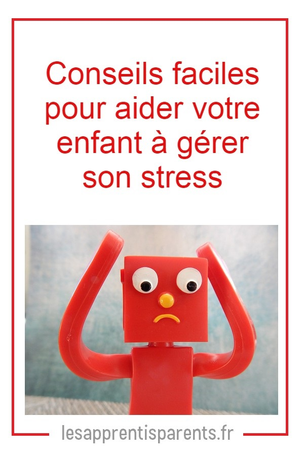 signes de stress chez votre enfant