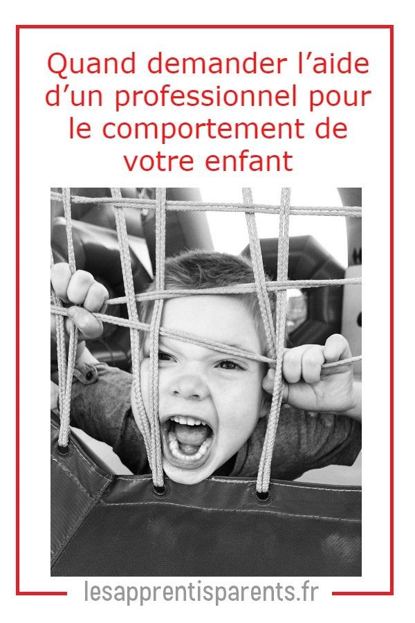 Besoin d'aide avec comportement enfant